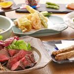 和料理 みね家 - 5,500円 大将のお任せコース(伊万里牛入)