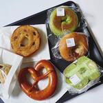 パンク - 料理写真:購入した6種類