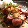 Himuka - 料理写真:黒毛和牛サーロインステーキ、肉の旨みが凝縮!!