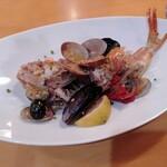 イタリア料理 B-gill - かさごのアクアパッツァ