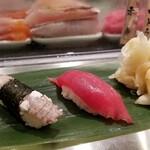 寿司 魚がし日本一 - 岡山シャコ・大間マグロ。