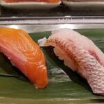 寿司 魚がし日本一 - 山梨富士の介・長崎赤ムツ。