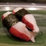 寿司 魚がし日本一 - タコ頭。