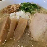 つけめん・らーめん活龍 - 濃厚鶏白湯そば