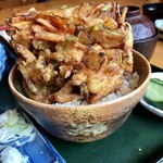 やぶ清 - 料理写真:かき揚げ丼