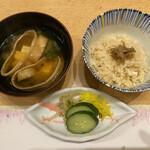 季寄せ料理 暖歩 - ・真鯛の炊き込みご飯