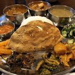 131798496 - 2020.6.9  ネパールローカル料理セット