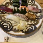 すし 朋輩 - 料理写真:お昼のおまかせにぎり