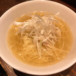 Gyozanoikkyuu - ネギ汁そばです。(2020.6 byジプシーくん)
