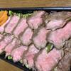 いすゞ - 料理写真:ステーキ重 1600円税抜 タレかけ前