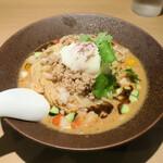 131801359 - オマール海老と10種類野菜の濃厚冷やし味噌担々麺1,000円
