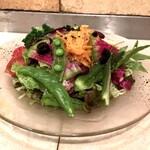 131802232 - 新鮮10品目野菜と生ハムのwillサラダ