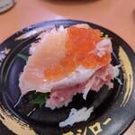 スシロー - 海鮮爆盛りマウンテン(300円+税)