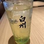 焼鳥酒場 本田商店 - 白州ハイボール