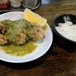 フカクサ製麺食堂 - コク旨唐揚げチーズ風味