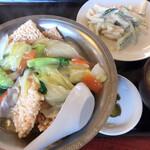 チャイナハウス - 料理写真:ランチの五目あんかけおこげ