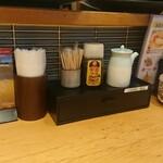 四ツ谷 魚一商店 - テーブル上