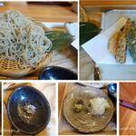 蕎麦や 石はら - 盛り蕎麦と天ぷら(並)。蕎麦や いし原(愛知県安城市)食彩品館.jp