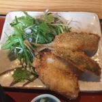 三喰撰酒 三重人 - 2020年6月時点 平日ランチ 南伊勢アジフライ食べ放題¥1.100