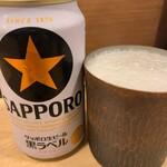 麺屋M - 缶ビール