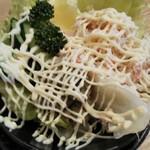 寿司虎 - 蟹味噌サラダ