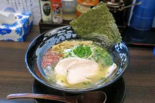 麺匠 藩次郎 - 海鮮白湯塩らーめん850円