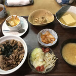 近江かね安 - 料理写真:焼肉丼定食