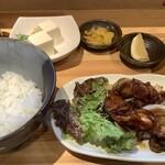 焼鳥バコン - 酢鳥定食