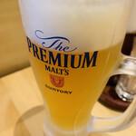 博多くろがね - 生ビール