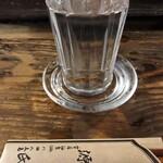 131826267 - 1杯め(高清水辛口冷や)