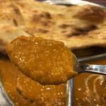 SITAL - ダル『豆)カレーはすりつぶしたタイプで食べやすい。辛口オーダーがダルカレーも対象とは思いませんでした。