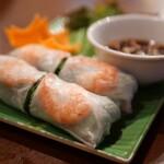 ベトナム料理 ホァングン - 生春巻(エビ)