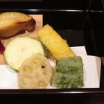松由 - 野菜の天ぷら