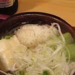 松由 - 鱧と茄子のお鍋の鱧