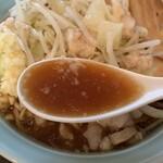 麺や あかつき - スープ