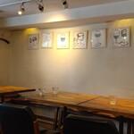 Nakameguroguriru - テーブル