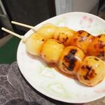 やわらぎ - 料理写真:みたらしだんご