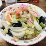 九州ラーメン友理 - 皿うどん