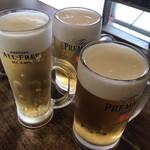 131844361 - 生中、ノンアルコールビール(運転手用)