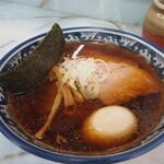 ラーメン丸仙 - 支那そば750円+味玉100円