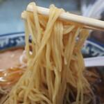ラーメン丸仙 - 麺
