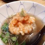 旬恵庵 あら垣 - ⚫天茶 日本料理出身だから出せる出汁がいいですね