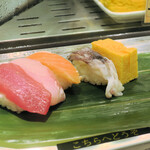寿司 魚がし日本一 - ちょい呑みセット