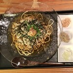 蕎麦切り 旗幟 - 梅ほのか(冷)1,150円