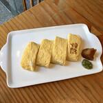 蕎麦切り 旗幟 - 出汁巻き玉子700円