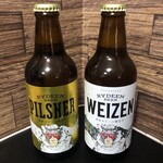 猿倉山ビールバー - ドリンク写真:ライディーンビール