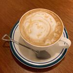 スコップカフェ - カフェラテ(630円)