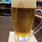 樽一 - ちょい飲みセット1,000円(開店~17時まで)からエビス樽生ジョッキ通常600円