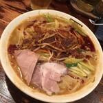 濃菜麺 井の庄 - 料理写真:ちょっと麺の整え方が雑かな(^。^)