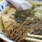 さすけ食堂 - 2020.6 かじめラーメン(800円)麺リフト
